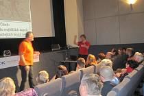 Ve čtvrtek 13. února zábřežské kino RETRO zájmu o cestovatelskou přednášku festivalu Welzlování téměř nestačilo.