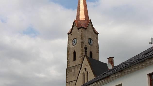 Mohelnický kostel svatého Tomáše Becketa.