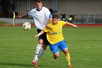 Šumperk versus Nový Jičín (bílé dresy).