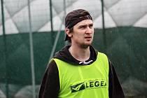 Tomáš Dajčar během přípravy v Šumperk