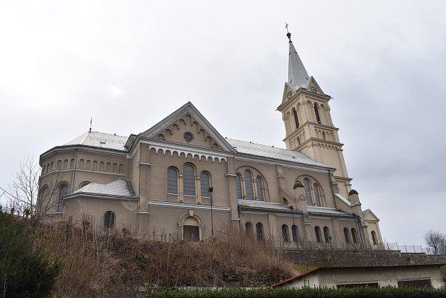 Mikulovice - kostel svatého Mikuláše