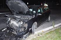 Nehoda vkřižovatce ulic Jesenická a Žerotínova v Šumperku, 5. listopadu 2020