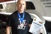 Jaromír Barcuch se zlatou medailí ze závodu TFA