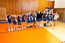 Snímky z utkání šumperských basketbalistek na turnaji v Litomyšli.