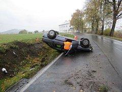 Nehoda u Skorošic.