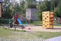 Dětské hřiště ve Velkých Kuněticích
