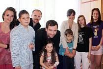 Ondřej Sokol a Jana Krausová v šumperské nemocnici.