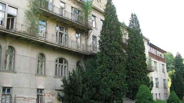 Sanatorka na snímku z června 2009