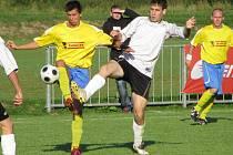 Archivní snímek z utkání Štíty versus Vikýřovice