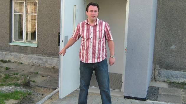 Ředitel Charity Javorník Robert Neugebauer