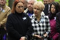 Vnučky maršála Koněva, sestřenice Elena Koněva (vlevo) a Anna Koněva.
