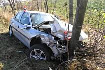 Nehoda 12. listopadu mezi Líšnicí a Mohelnicí