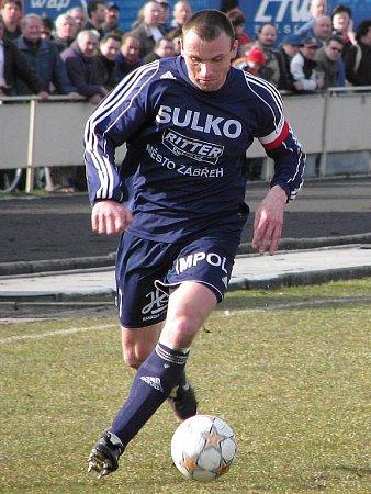 Lubomír Pinkava coby hráč Zábřehu