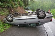 Víkendové nehody na Šumpersku