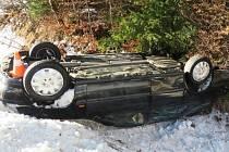 Nehoda u Rejvízu.