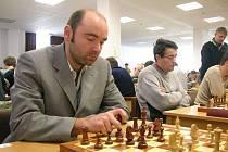Radek Kalod během partie turnaje O losinského kapra.