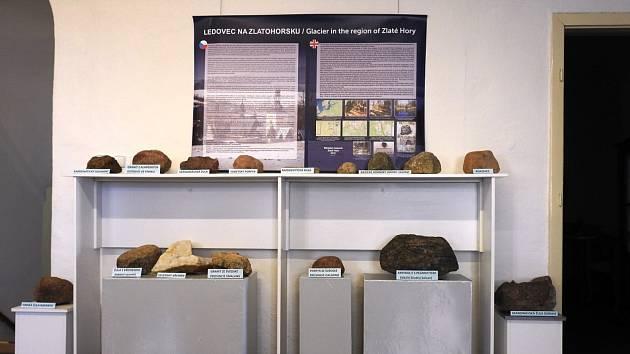 Nová expozice ve zlatohorském muzeu.