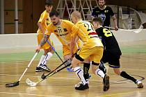 Florbalisté Asperu v utkání proti Frýdku-Místku