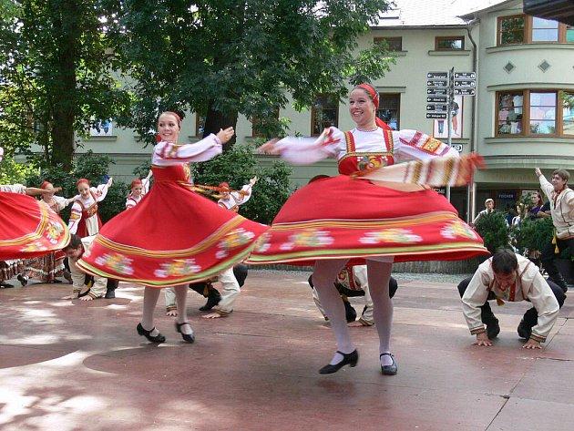 Ve středu odstartoval v Šumperku tradiční folklorní festival