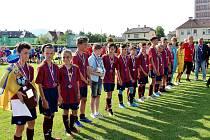 Druhý den turnaje Ondrášovka Cup v Šumperku. Domácí vybojovali stříbro.