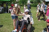 Desátý sportovně zábavný den určený zejména lidem s mentálním handicapem přichystala Střední škola sociální péče a služeb Zábřeh