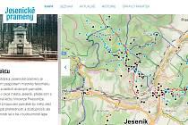 Nový web www.jesenickeprameny.cz
