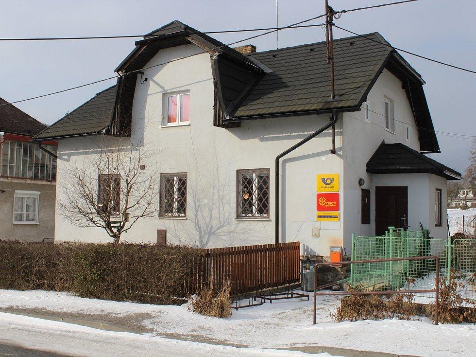 Pošta Partner v Loučné nad Desnou.