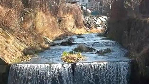 Potok v Javorníku – současný stav.