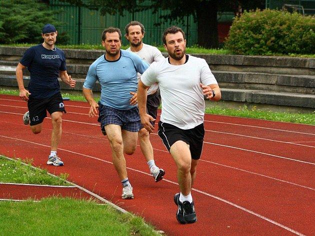 Fyzické testy Draků v neděli 31. července 2011