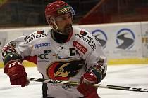 Jestřábi vs. Ústí nad Labem. Poslední utkání sezony bylo ve znamení loučení Tomáše Divíška s kariérou.