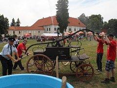Hasiči v Konici oslavili sto čtyřicet let svého trvání.
