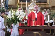 660 let Krumsína: mši celebroval arcibiskup
