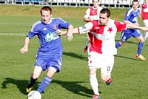Prostějovští fotbalisté zahájili jarní část sezony domácí výhrou nad předposlední Kroměříží. Svěřenci trenéra Jury byli téměř celou dobu lepším týmem, a tak zaslouženě berou cenné body.