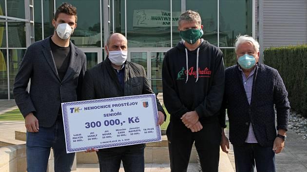 Zleva: Jiří Veselý, František Jura, Jiří Novák, Miroslav Černošek