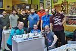 Turnaj v táhlovém hokeji Stiga v prostějovském hostinci Na Růžku