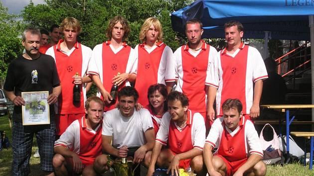 Vítězný tým PEPO 2007 AC Zavadilka.