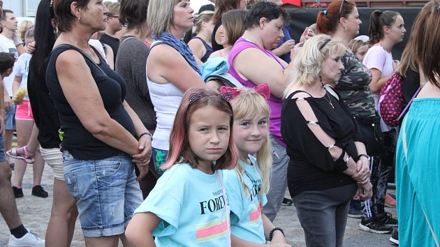 Koncert Mirai na prostějovském náměstí