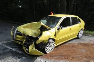 Na silnici mezi obcemi Brodek u Konice a Konice došlo k dopravní nehodě.
