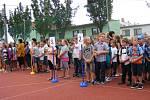 První školní den v Olšanech u Prostějova