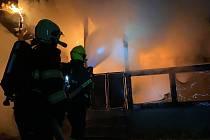 Požár. Ilustrační foto
