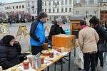 Den Země s ekojarmarkem na náměstí TGM v Prostějově