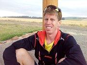 David Brtna, strážce rozhledny Kopaninka na Drahanské vrchovině