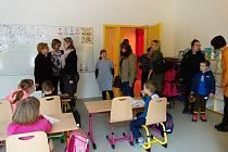 V pátek 28. února, otevřela vřesovická základka své prostory veřejnosti.