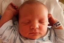 Šimon Toman, Prostějov, narozen 23. července, 51 cm, 3900 g