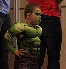 Hulk, Sněhurka, piráti nebo drak, to jsou jen některé z dětských masek, které byly k vidění na šibřinkách v Nezamyslicích.