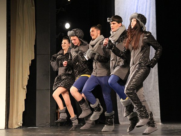 Finálový galavečer Doteků módy vprostějovském divadle