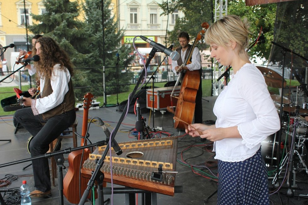 Prostějovské Hanácké slavnosti 2012 - Tomáš Kočko a orchestr
