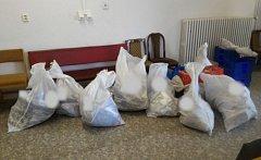 Nedoručené zásilky v jednom z bytů v prostějovské Brněnské ulici