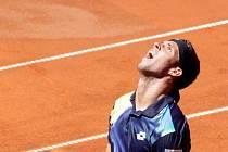 Jiří Veselý ve finále Czech Open v Prostějově
