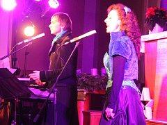 Koncert Richarda Pachmana a Dity Hořínkové v Husově sboru